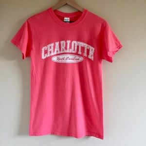 Charlotte North Carolina Graphic T-Shirt S